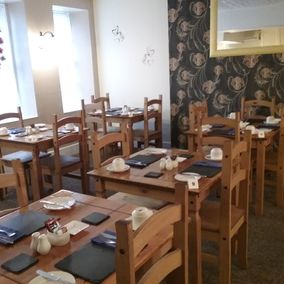 The Chesterfield Bed and Breakfast in Torquay, Devon | Dining room